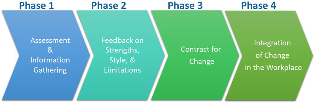 Phases of individual coaching at olson consulting group